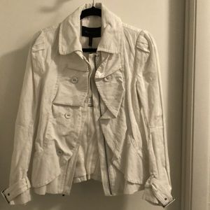 Double Breasted Cotton Jacket